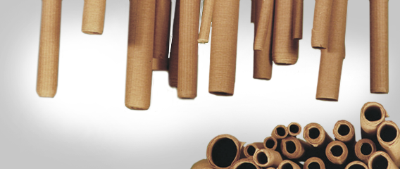 Flexible Crepe Paper Tubes
